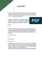 Glosario Epidemiologia y Bioestadistica