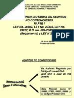 1ra Asuntos No Contenciosos Comp. Not Ley 26662 nixon
