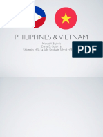Comparative Business Environment - Philippines and Vietnam