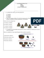 Prueba Maths 1 2019