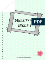 Mallette Cycle 1