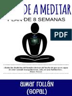 La Meditacion Desde Cero Spanish