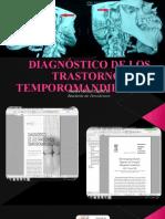 Diagnóstico de los trastornos temporomandibulares