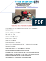 1.65 Dabang High Pressure Washing Pump