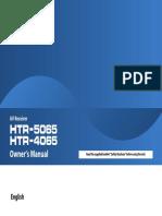 Yamaha HTR-4065 AV Receiver Manual