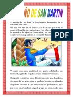 El Sueño de Don José de San Martin Monografia