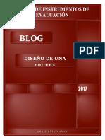 Blog Diseño de Una Prueba