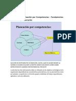 Esquema Diseño Evaluacion Por Competencias
