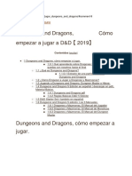 Iniciacion DnD