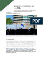 Lo Que La Prensa No Cuenta de Las Protestas en Chile
