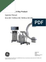 GE OEC Brivo 715 785 865 Operator Manual_UM_5358650-1EN_13