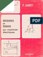 Mesures et essais sur machines électriques