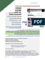 Dr Zuzannie Januszowej Kurtykowej M32 FO ZNAK Zadupia Cywilizacyjnego PDNIII SSetKh von Stefan Kosiewski ODzYDZANIE ZR 20191110 ME SOWA DEVYATOV