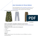 Fabric Consumption Calculation for Woven Bottom (1)