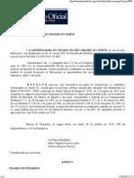 Diário Oficial Do Estado Do Rio Grande Do Norte