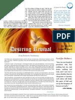 Christian Revival Newsletter Oct/Dec 2019