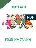 Proyecto día de los jardines de infantes y de la maestra jardinera