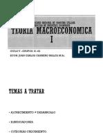 Teoría Macroeconómica I