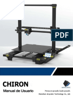 Anycubic Chrion Manual 20180907-V71