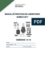 Manual Practicas de químicas 1a 13 2017