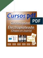 Electroplateado de Joyeria PDF