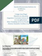 Contextualización Del Panorama Histórico de La Didática.