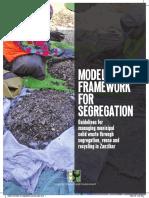 Model Framework for Segregation ZANZIBAR-CSE