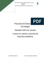 Pautas al desarrollar Proyectos de Tecnología
