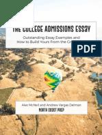 Help w College Essays