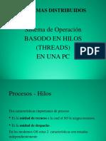 Sistema de Operación Basado en Hilos