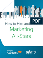 Train marketing stars