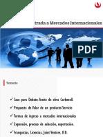 Estrategias de mercados internacionales