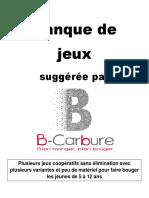 Banque de Jeux B-Carbure