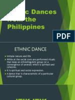 Ethnic Dances in the Philippines