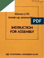 40mm L-70 Break-up Ammunition NWM 1970