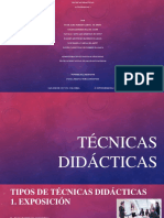 Tecnicas Didacticas Final PDF