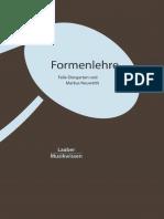 Formenlehre. Ein Lese- Und Arbeitsbuch z