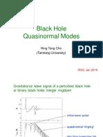 Black Hole Quasinormal Modes