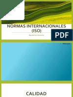 Normas Internacionales (Iso)
