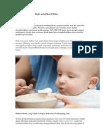 Panduan Menyajikan Buah Untuk Bayi 6 Bulan