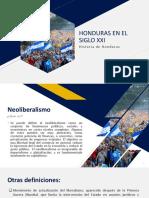 Honduras en El Siglo Xxi