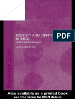 Laura Dudley Jenkins - Identity and Identification in India_ Defining the Disadvantaged (2002, Routledge)