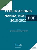 Clasificaciones NANDA NOC NIC 2018 2020