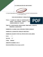 Investigación Formativa III Unidad