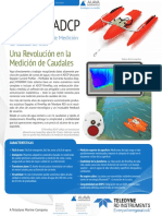Correntimetro Adcp Riverray Teledyne Rdi