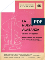 Cántico de Los Tres Jóvenes (G 18) (Daniel 3, 57-88 y 56) (LETRA y PARTITURA) (La Nueva Alabanza - Laudes y Vísperas, Instituto
