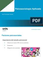 IMPORTANCIA DEL ESTUDIO PSICOSOCIAL
