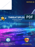 Threatsploit Adversary Report 2019