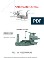 Mandrinadora Industrial(Lubricación)