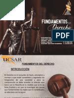 Fundamentos Del Derecho Exposición